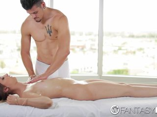 FantasyHD – Lubed up Destiny Love takes cock