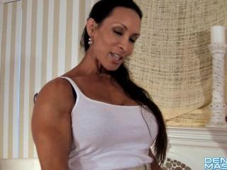 Denise Masino – Pony Up Strap-on Video – Female Bodybuilder