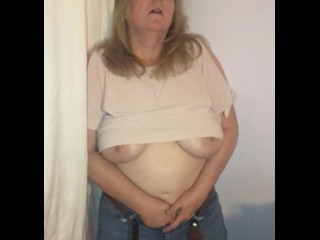 NAUGHTY WIFE MADE TO STAND IN CORNER AND MASTURBATE HAS MULTIPLE ORGASMS