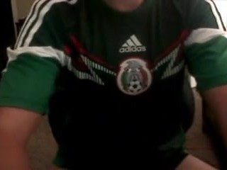 Straight Mexican soccer boy loves anal on cam