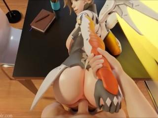 Overwatch Mercy POV Fucking