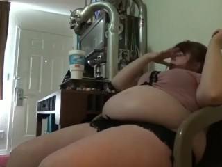 Taytay big belly eating