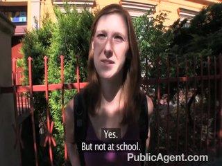 PublicAgent – Ginger Anal sex amateur POV