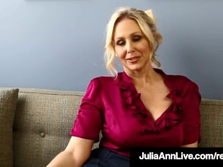 Milf Professor Ms. Julia Ann Teaches You Masturbation 101!