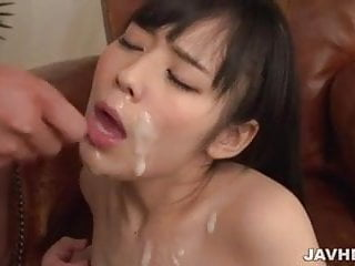 Ruka Kanae feels several cocks in her tight holes