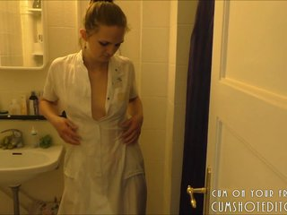 Young Blonde Amateur Soaping Under The Shower