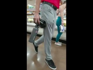 Candid Reposts: Blue Leggings Teen