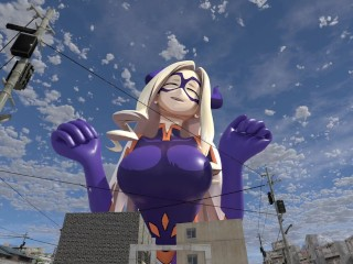 Mt Lady Giantess Growth and BE [Giantess growth and Breast Expansion]