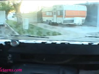 icecream truck cute teenager blond schoolgirl gets fucked hard