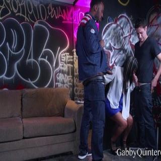 MEXIMILF Slut Gaby Gets Gangbanged!
