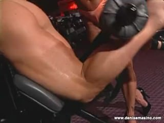 Denise Masino – GYM HEAT Scene07 – Female Bodybuilder
