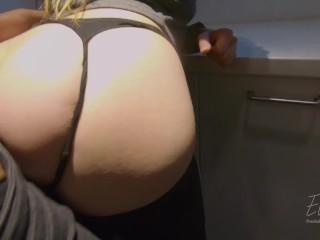 Sex In IKEA! – Risky Public Sex & Blowjob Ellakai