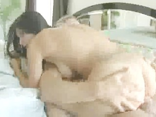 Massage in the bathroom hot