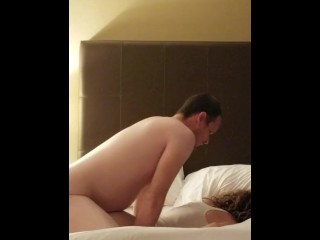 Teen girlfriend does anal and  ass to mouth at the cosmopolitan Las Vegas