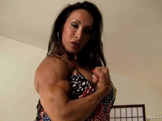 Denise Masino – Miniskirt Muscle Pussy Stuffing – Female Bodybuilder