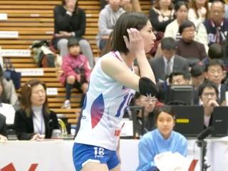 Japanese women's volleyball ass
