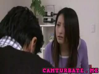Shizuka Kanno conviced To be Fuck
