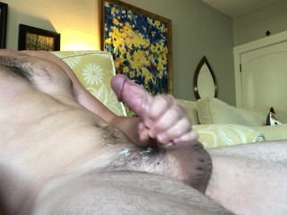 My first time cumming on camera for you