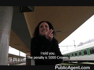 PublicAgent – Olivia sucks and fucks me