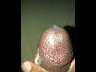 BBC Cumming and Moaning with Lotion