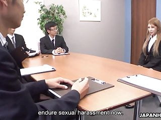 Mariru lasts sexual harrasment so that she gets the job