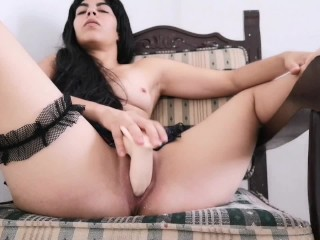 Nympho school girl cums on your face – Orgasm and Creampie