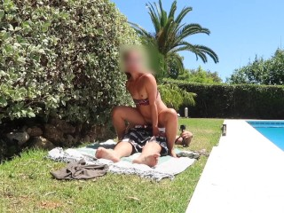 Horny College babe fucks on springbreak vacation POV | Amateur PeachesGirl