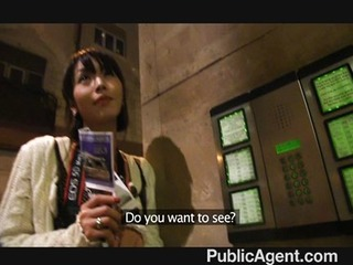 PublicAgent – Tiny Japanese pussy pounded