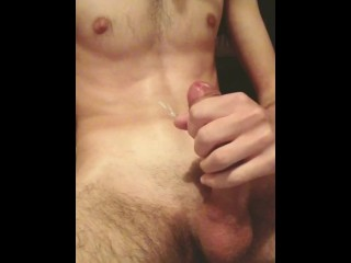 Greek jerk off and cumshot