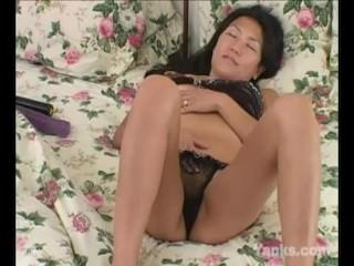 Yanks Asian Michiko Masturbates