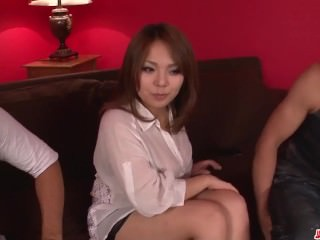 Kanna Itou wants cocks to ruin both her shaved holes