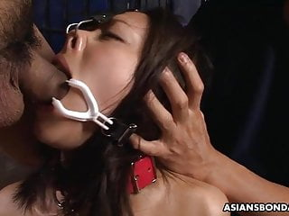 Yayoi Yanagida is a perfect sex slave for two men
