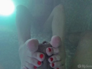 Underwater Footjob in Jacuzzi (Teaser)
