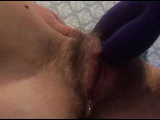 intense orgasm creamy dripping pussy