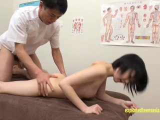 Rin Aoki Goes For A Massage Gets Fucked One Of The Cutest Jav Teens Working