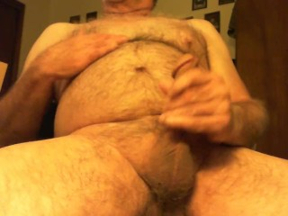 Grandpa Loves to Masturbate and Cum for you Girls