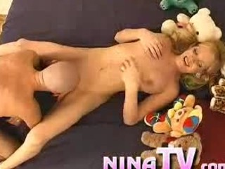 Tranny Nina Sucks His Dick