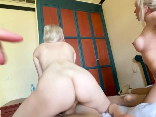 My sister and I were fucked by strangers in a hotel room – LEAH MEOW