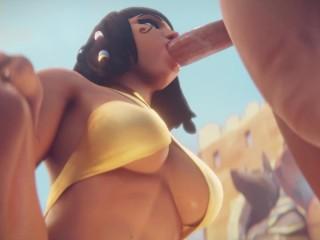 Pharah Sucking Dick Overwatch (Animation W/Sound)