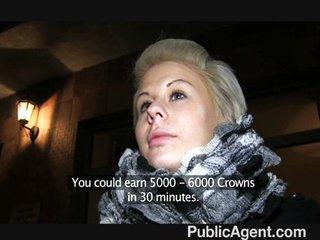 PublicAgent – Partners in Porn trick blonde
