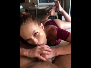 Sensual morning sex ended up with hard doggy