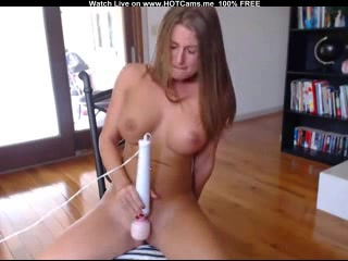 Hot Busty Dutch Teen Magic Wand Fun