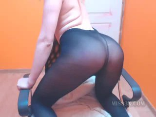 Sexy blonde pussy fisting