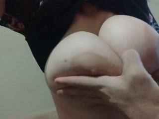 Titty love slowmotion, drop it.