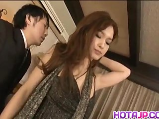 Mei Haruka hot Asian maid is thoroughly fuck