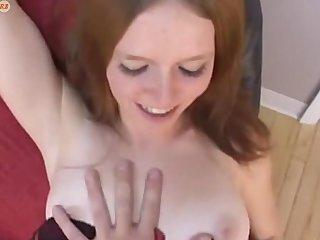 sweet redhead girl