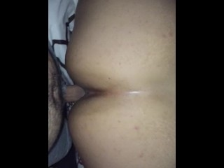 Big booty Latina cheats on boyfriend