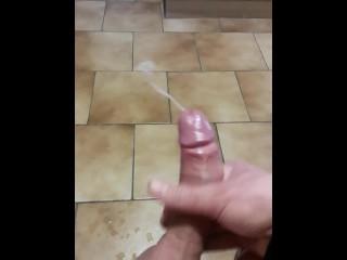 Branlette et grosse ejac