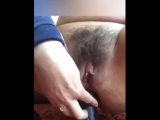 Hairy pussy and anal