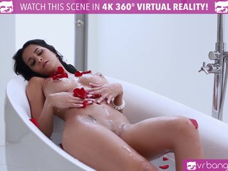 VR Bangers Brazilian Chick Rubbing her PUSSY